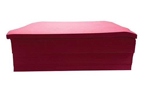 Childcraft Construction Paper, 9 x 12 Inches, Red, 500 Sheets - 1465880 (500 Red Sheets)
