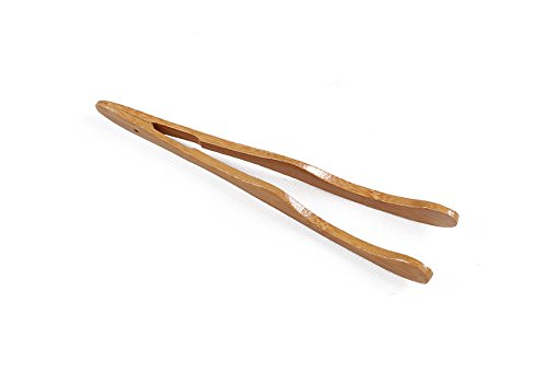 Funnytoday365 18Cm Natural Bamboo Tea Clip Handmade Carbonize Tea Tweezer Scoop Grade Chinese Bamboo Tea Sticks by FunnyToday365 (Image #1)