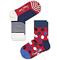 Happy Socks 2-PACK BIG DOT SOCKS KBDO02-4-6 Years