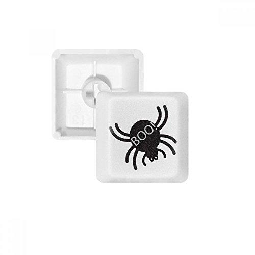 Halloween Black Spider PBT Keycaps for Mechanical Keyboard White OEM No Marking Print