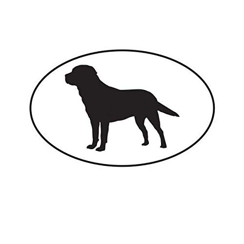 ION Graphics Magnet Golden Retriever Euro Oval Magnetic Vinyl Dog Canine 5