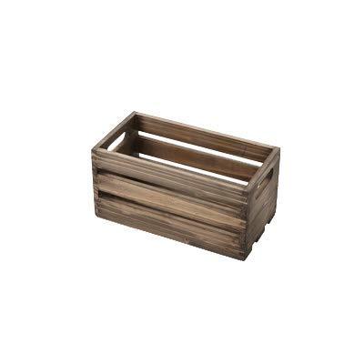 American Metalcraft WTV12 Wooden Crate, Vintage, 12''