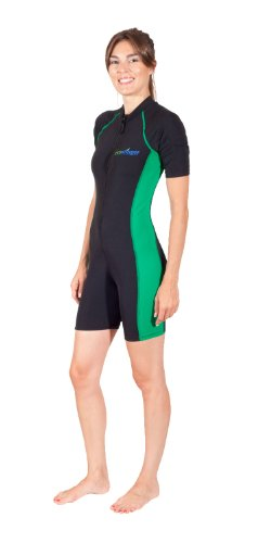 EcoStinger Women's UV Sun Protection Swimsuit Sunsuit With Pocket Short Sleeves