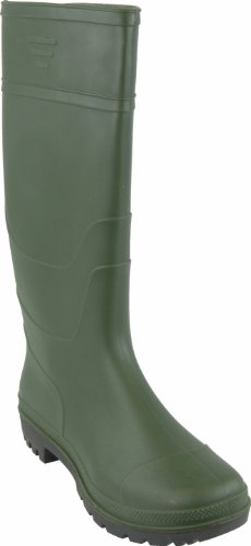 Highlander Repton Wellington - Botas Verde (Green/Black)