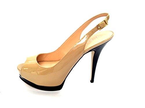 Guess Zapatos de talón abierto Fl1Pnnpat05 Beige EU 40