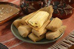 Del Real Foods Gourmet Chicken Tamales In Green Sauce