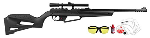 Umarex NXG APX Multi-Pump Pneumatic Youth .177 Caliber Pellet or BB Gun Air Rifle - Includes 4x15mm Scope, Combo Kit (with Glasses, Ammo & Targets), 490 fps (Best Multi Pump Pneumatic Air Rifle)