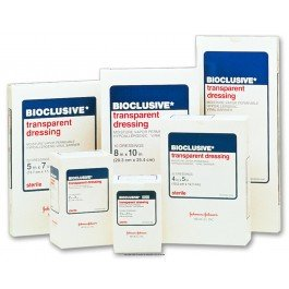 BIOCLUSIVE® Transparent Dressing-Size: 4'' x 5'' Sterility: Sterile - Box of 50