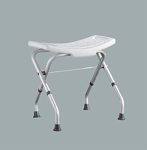 AZHom Versenkbarer Klappduschhocker Badezimmer Badezimmer ältere Armlehne Duschstuhl Behinderten Sessel Badestuhl (Color : A)