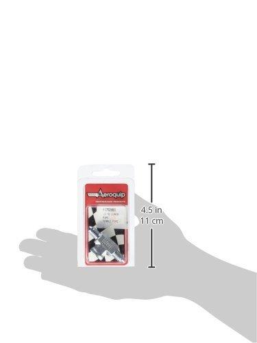 Aeroquip FCM2881 Steel Female Pipe Flare Tee Adapter