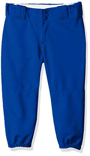 Alleson Athletic Womens Softball - Alleson Athletic Girls Belt Loop Fastpitch Pant, Royal, Large