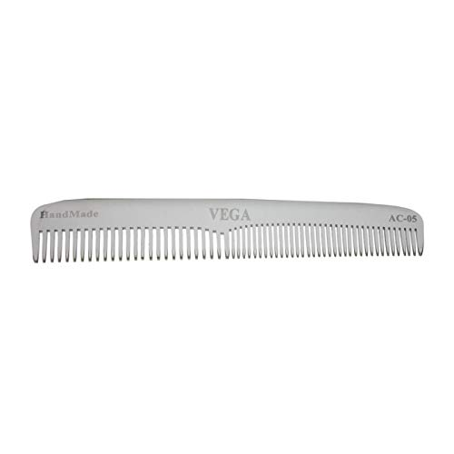 Vega Aluminium Graduated Dressing Hair Comb - 1 Pcs (Ship from India)