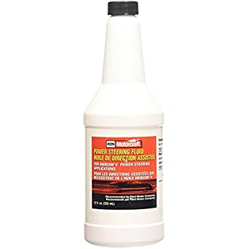 Genuine Ford Fluid Xl  Power Steering Fluid  Oz