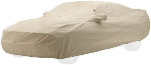 Covercraft Custom Fit Car Cover for Pontiac Firebird – Technalon Block-It Evolution Series Fabric, Tan (C14546TK)