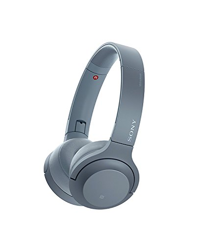 Sony WH-H800 h.ear Series Wireless On-Ear High Resolution Headphones (International version/seller warranty) (Blue) by Sony