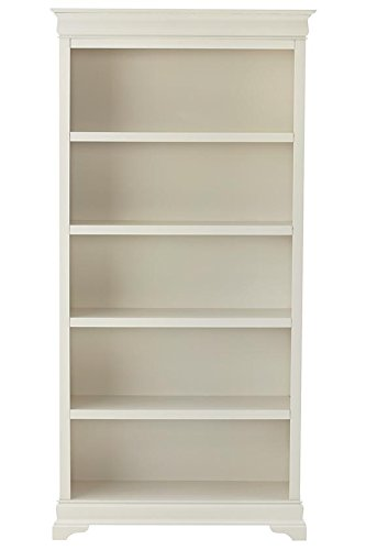 louis-philippe-36w-bookcase-73hx36wx14d-polar-white