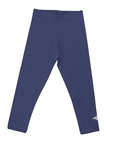 (Stingray Navy UV Sun Protective Swim Tights for Boys & Girls- Swim Pants - Sun Protection Swimming Leggings - sizes 4-14. (4))