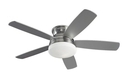 Monte Carlo 5TV52BSD Traverse 52 in. Indoor Ceiling Fan – Brushed Steel, Appliances for Home