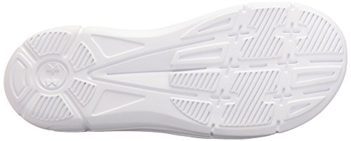 Under Armour Damen Ignite VII Slide Sandale Weiß schwarz