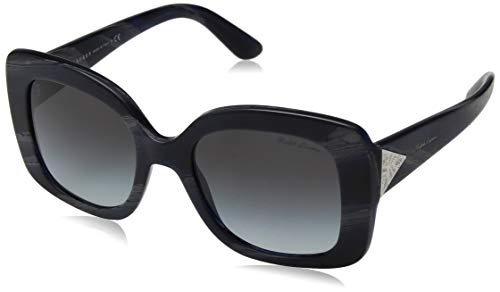 Ralph by Ralph Lauren Women's 0rl8169 Square Sunglasses black horn vintage effec 51.0 ()