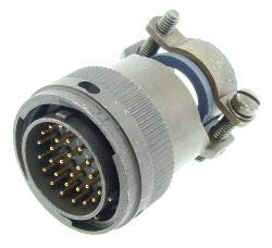ITT CANNON KPT06F18-32P CIRCULAR CONNECTOR PLUG SIZE 18 CABLE 32 POSITION