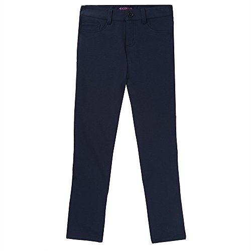 Navy Knit Pants - 2