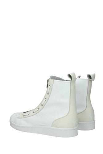Y3 Yamamoto Sneakers Pro Zip Uomo - Pelle (1cg318) Eu Bianco