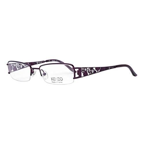 Beste Kenzo Brille (KZ 2160 04) Metall dunkel lila Dckn32VU