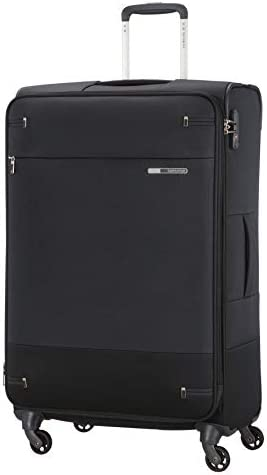 Samsonite Suitcase, BLACK, L 78cm-112.5L