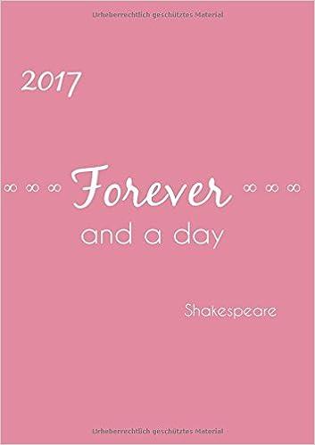 dicker TageBuch Kalender 2017 - Shakespeare