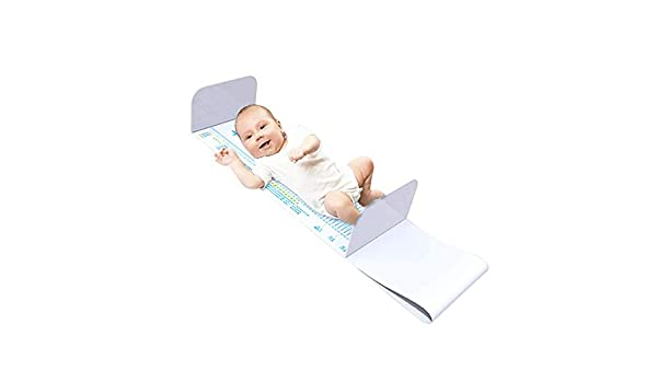 Accurate Height Measuring Instrument Infant Ruler Measuring Height Horizontal Measuring Bed,White Singa-Z Baby Height Measuring Pad