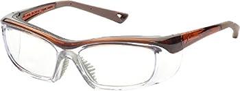 OnGuard Safety OG-220S Eyewear w/ Dust Dam Brown 58-15-135
