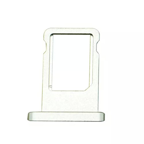 (Goliton SIM Card Tray Holder Replacement Part for iPad Mini 2 - White)