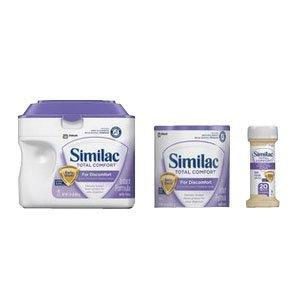 Similac Total Comfort Infant Formula Powder, 12.6 Ounce Can -- 6 per -