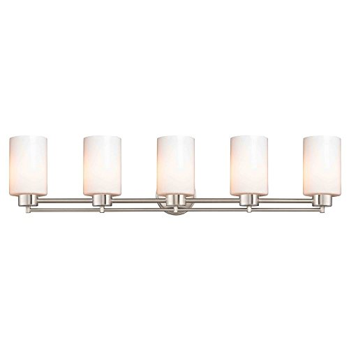 Design Classics Lighting Satin Nickel Bathroom Light