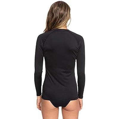 Roxy Women's Whole Hearted Long Sleeve Rash Guard: Clothing