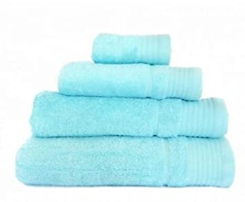 Confort Home M.T (Aguamarina) Juego de Toallas de baño 3 Piezas REGALITOSTV (1