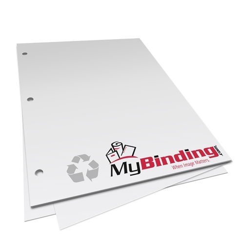 24lb 3-Hole Punched Recycled Binding Paper (24 Lb Punched Binding Paper)