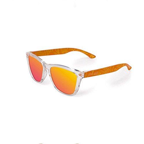Personality HL Hombre Sunglasses de Mirror Driver Summer sol Orange polarizadas Gafas Sunglasses New PFqE66