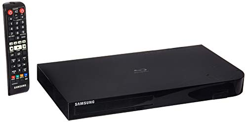 Samsung Blu-Ray Player Full Web 3D with Built-in Apps 4K Upscaling (Refurbished)