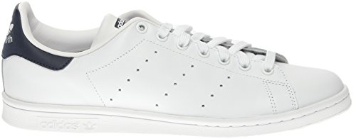 new running Adidas White Homme Stan Smith running Navy Chaussures Blanc White n44qzSwAxf