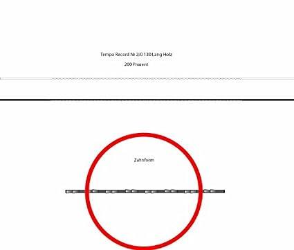 Laubs/ägebl/ätter TEMPO RECORD BLAU Holzlaubs/ägebl/ätter Nr 5 Abmessung 0,38 mm x 0,93 mm Dutzend