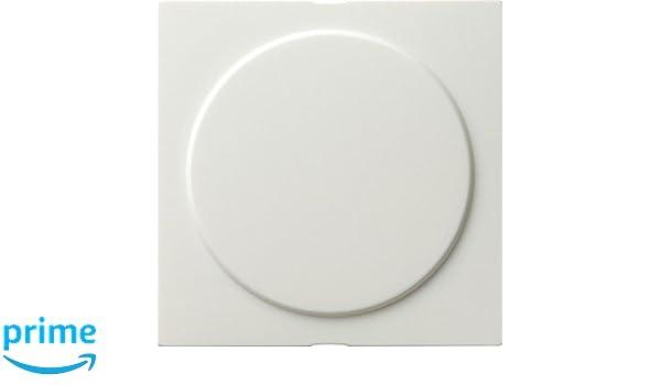 Gira 026840 con anillo de instalaci/ón S color blanco Cubierta ciega