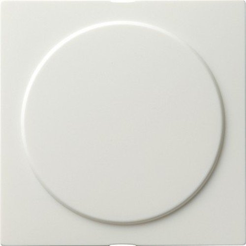 Gira 026840 - Cubierta ciega (con anillo de instalació n S), color blanco