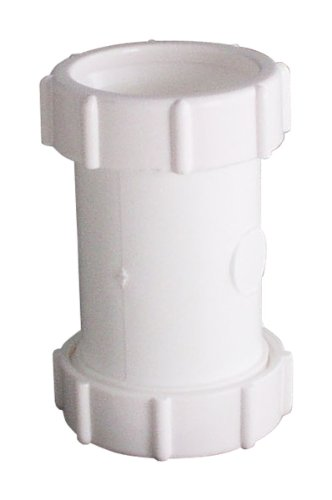 LDR Industries 506 6310 PVC Slip Coupling, 1-1/4
