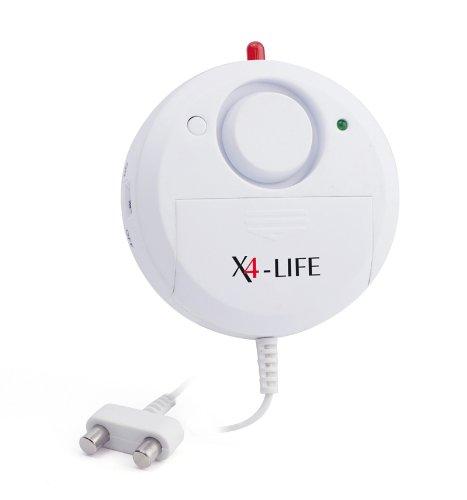 Wassermelder Test X4-LIFE Security 2015