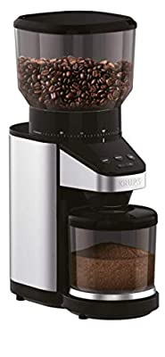 KRUPS GX5000 Professional Electric Burr Coffee Grinder with Grind Size and Cup Selection (Certified Refurbished)
