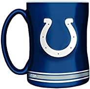 The Sports Vault NFL Indianapolis Colts Sculpted Mug, 14-Ounce Team Color
