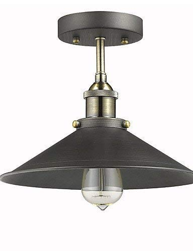 BOSSLV Maximum 60W Retro Ceiling Light 1 Light, Restaurant,Study,Office,Corridor Metal Embedded Mounting Light, 220-240V