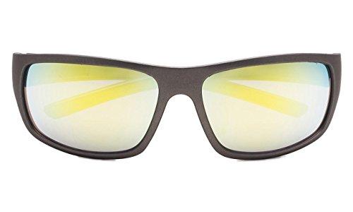 2 Lectura De Bifocales Sol De Eyekepper Rojo Sol Espejo Oro 50 Gafas Gafas Espejo Strength x0Tzxwnd